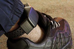 Pretrial services ankle bracelet