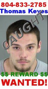 fugitive Thomas Keyes
