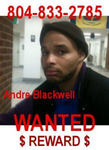 Andre Blackwell Fugitive