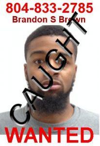 Fugitive Brandon Brown